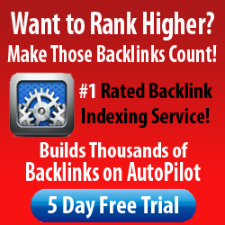 Index Your Links by Building Over 210,000 Backlinks to Your Backlinks per Month.